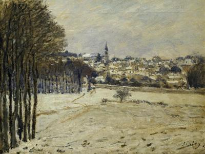 The Snow at Marly-Le-Roi, 1875-Alfred Sisley-Giclee Print