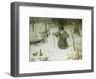 The Snow Queen-Thomas Bromley Blacklock-Framed Giclee Print