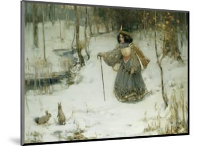 The Snow Queen-Thomas Bromley Blacklock-Mounted Giclee Print