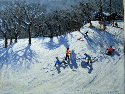 The Snowman-Andrew Macara-Giclee Print