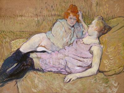 The Sofa, c.1894-96-Henri de Toulouse-Lautrec-Giclee Print