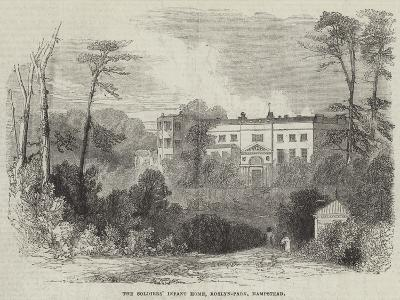 The Soldiers' Infant Home, Roslyn-Park, Hampstead--Giclee Print