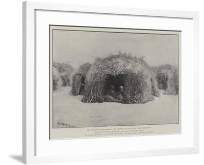 The Somaliland Expedition, the Hospital at Las Durie, Isolation Wards-Henry Charles Seppings Wright-Framed Giclee Print