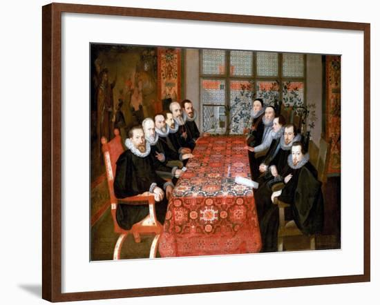 The Somerset House Conference, 1604-English School-Framed Giclee Print