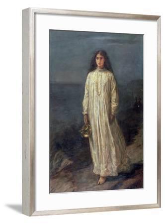 The Somnambulist, 1871-John Everett Millais-Framed Giclee Print