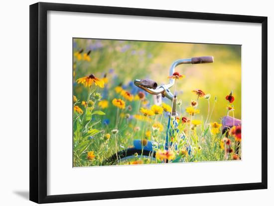 The Song Sings Bright Crop-Deb Lee Carson-Framed Photo