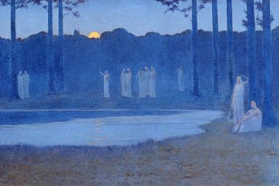 The Songs of the Night, 1896-Alphonse Osbert-Giclee Print