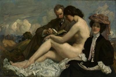 The Sonnet, C.1907-George Washington Lambert-Giclee Print