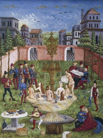 The Sons of Venus,Miniature, Cristoforo De Predis--Giclee Print