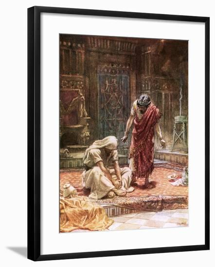 The Sorrow of King David-William Brassey Hole-Framed Giclee Print