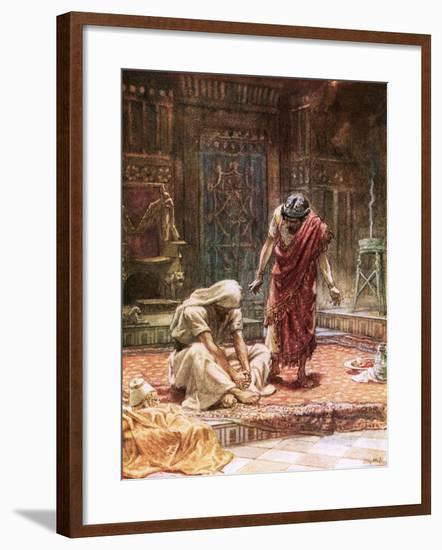 The Sorrow of King David-William Brassey Hole-Framed Giclee Print