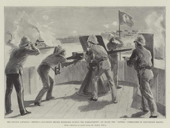The Soudan Advance-Frederic Villiers-Giclee Print