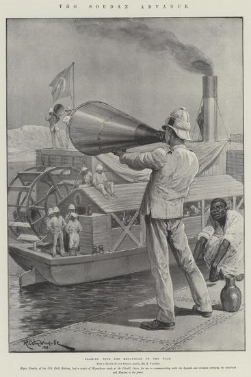 The Soudan Advance-Richard Caton Woodville II-Giclee Print