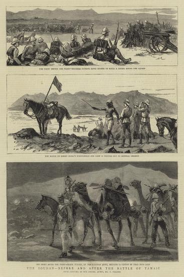 The Soudan, before and after the Battle of Tamasi-Frederic Villiers-Giclee Print