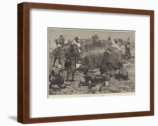 The Soudan Expedition, a Pool in the Desert-Richard Caton Woodville II-Framed Premium Giclee Print