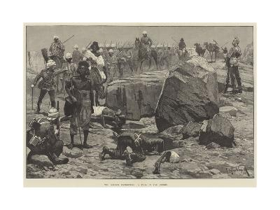 The Soudan Expedition, a Pool in the Desert-Richard Caton Woodville II-Giclee Print