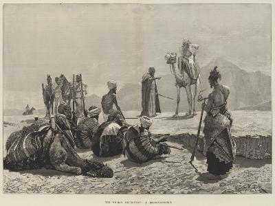 The Soudan Expedition, a Reconnaissance-Richard Caton Woodville II-Giclee Print
