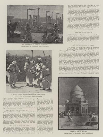 The Soudan Rebellion--Giclee Print
