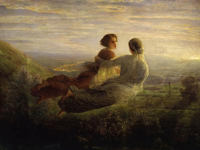The Soul's Flight-Louis Janmot-Giclee Print