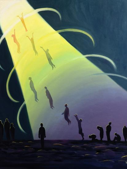 The Souls of Purgatory Rise Towards Heaven as They are Purified, 1995-Elizabeth Wang-Giclee Print