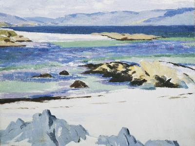 The Sound of Mull from Iona-Francis Campbell Cadell-Giclee Print