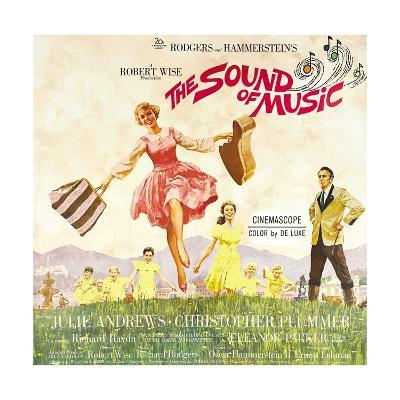 The Sound of Music, from Left: Julie Andrews, Christopher Plummer, 1965--Giclee Print