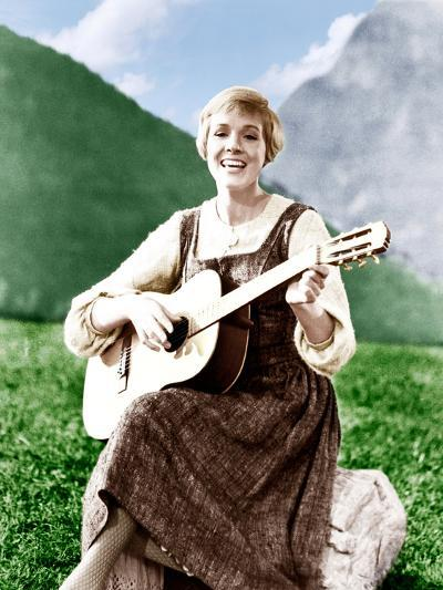 THE SOUND OF MUSIC, Julie Andrews, 1965.--Photo
