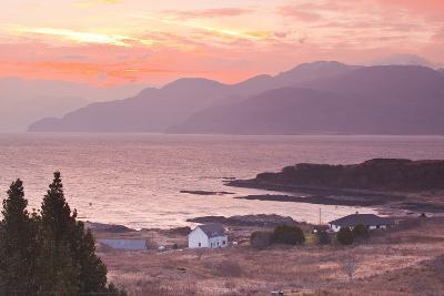 The Sound of Sleat During Sunrise from the Isle of Skye-Julian Elliott-Photographic Print