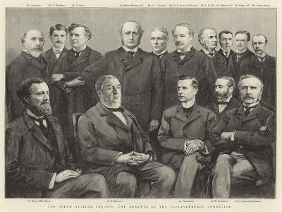 The South African Inquiry, the Members of the Parliamentary Committee--Giclee Print