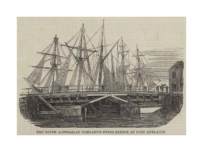The South Australian Company's Swing-Bridge at Port Adelaide--Giclee Print