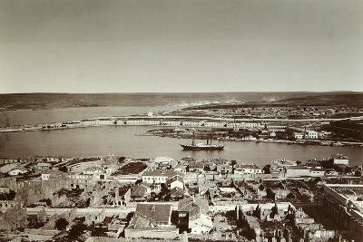 The South Bay and Cape Paul, Sevastopol, Crimea, 1850S--Photographic Print