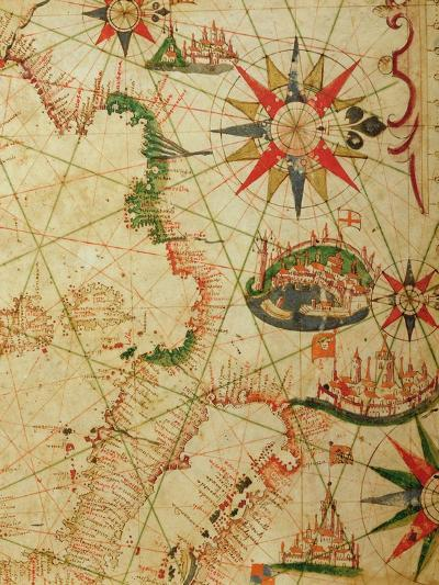 The South Coast of France, Italy and Dalmatia, from a Nautical Atlas, 1651-Pietro Giovanni Prunes-Giclee Print