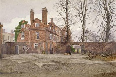 The South End of Fairfax House, High Street, Putney, London, C1887-John Crowther-Giclee Print
