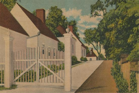'The South Lane', 1946-Unknown-Giclee Print