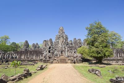 The South Side of the Bayon Temple, Angkor Thom, Angkor, Siem Reap, Cambodia--Photographic Print