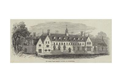 The South Wales Training College, at Carmarthen--Giclee Print