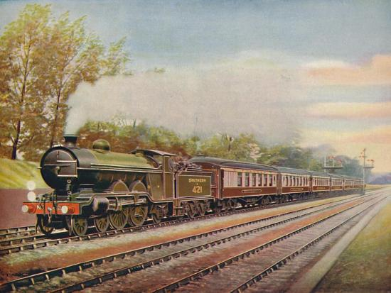 'The Southern Belle Express, Southern Railway', 1926-Unknown-Giclee Print