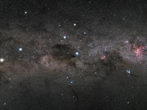 The Southern Cross and the Pointers in the Milky Way