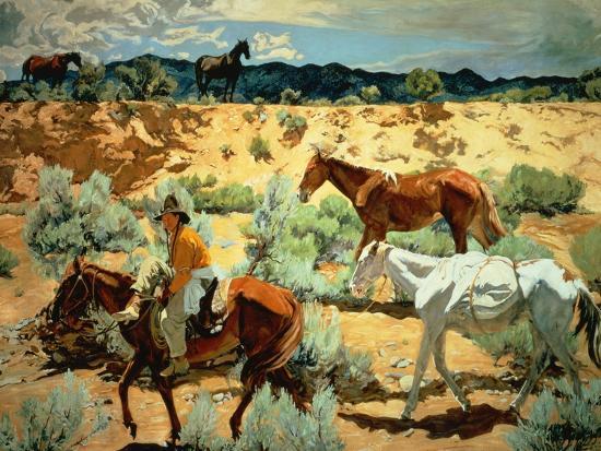 The Southwest-Walter Ufer-Giclee Print
