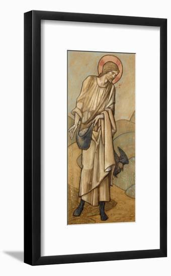 The Sower: a Design for Stained Glass at Brighouse, Yorkshire, 1896-Edward Burne-Jones-Framed Giclee Print