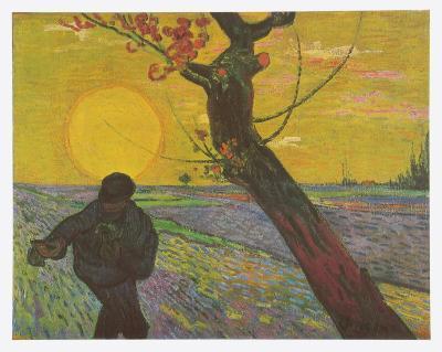 The Sower, c.1888-Vincent van Gogh-Art Print
