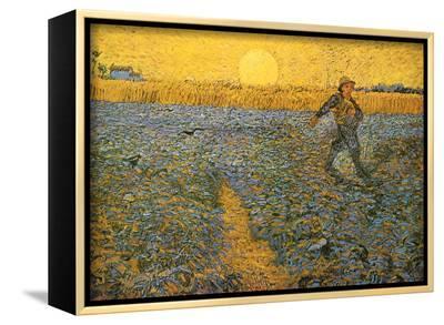 The Sower, c.1888-Vincent van Gogh-Framed Canvas Print