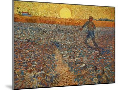 The Sower, c.1888-Vincent van Gogh-Mounted Giclee Print