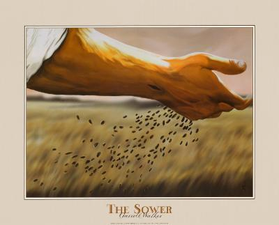 The Sower-Garret Walker-Art Print