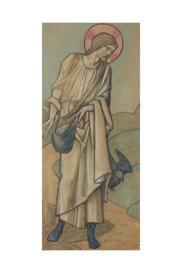 The Sower-Edward Burne-Jones-Giclee Print