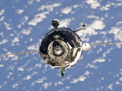 The Soyuz TMA-01M Spacecraft-Stocktrek Images-Photographic Print