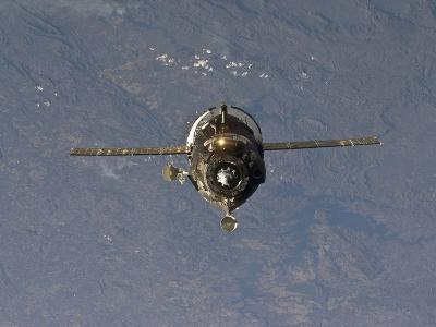 The Soyuz TMA-19 Spacecraft-Stocktrek Images-Photographic Print