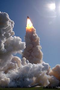 The Space Shuttle Columbia and Her Crew of Six Lifted Off from Pad 39B at 1:09 P.M.