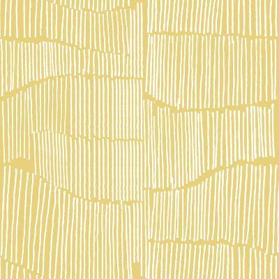 The Spaces Between Perfect Tile Yellow-Kavan & Company-Giclee Print
