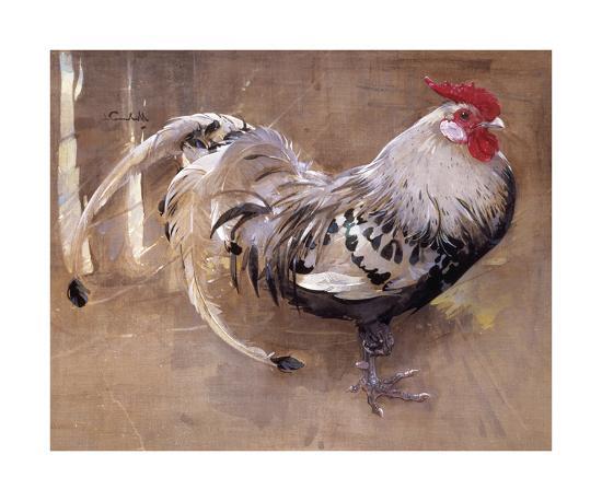 The Spangled Cock-Joseph Crawhall-Premium Giclee Print